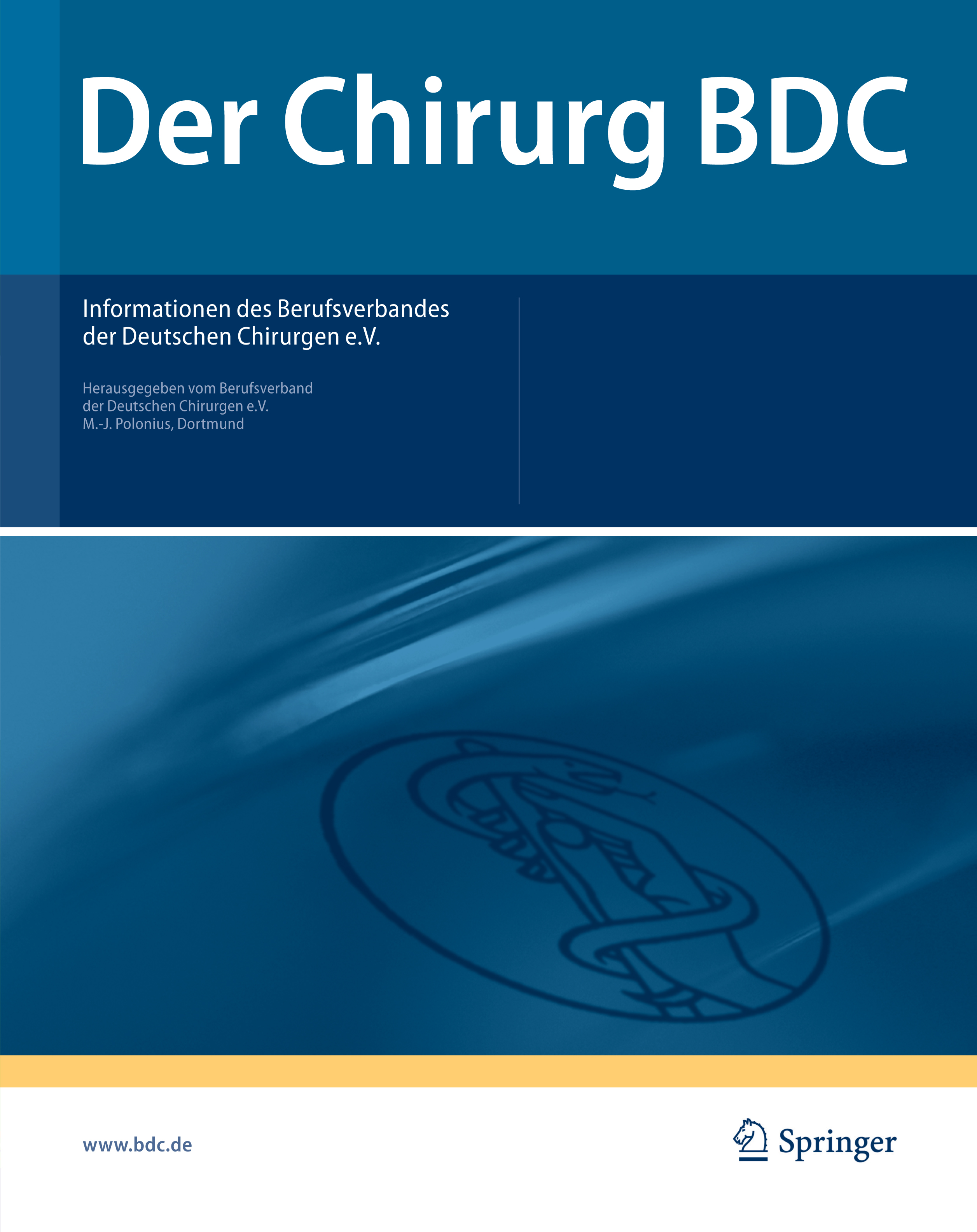 Der Chirurg BDC Cover 2007 2008
