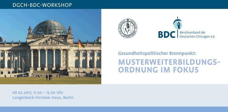 Workshop DGCH BDC