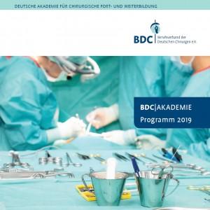 Programm BDC|Akademie 2019