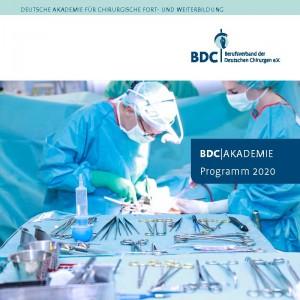 Programm BDC|Akademie 2020