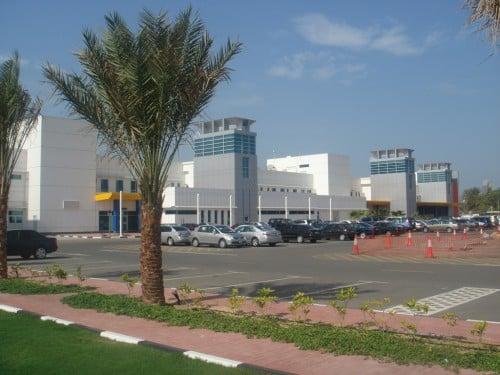 Abb. 2: Das moderne Trauma Center im Rashid Hospital zur Behandlung von Schwerverletzen